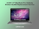 "LCD/GLASS Replacement - A1297 17"" MacBook Pro Broken Glass Replacement Service"