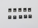 Parts for iPad 1 - NEW 10pcs LCD LED Screen Bezel Metal Screw Holder Mount Clips for iPad 1 WiFi A1219 3G A1337