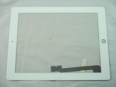 New Lcd Led Screen Glass W Middle Bezel For Apple Ipad 3