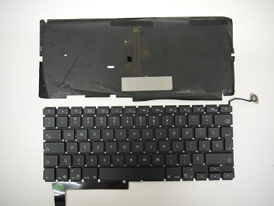 Genuine OEM Swedish A1286 Keyboard+Backlight+Screws For MacBook Pro 15/'/' 2012