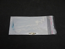 Clear Plastic Bag - NEW 160Pcs 5cmX9cm 1mil OPD Self Adhesive Seal Reclosable Plastic Clear Bags