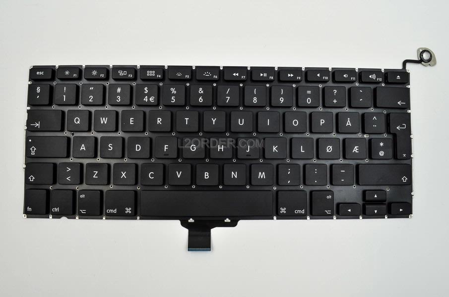 New Norwegian Keyboard For Apple Macbook Pro 13 Quot A1278