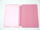 IPad Case - Pink Slim Smart Magnetic PU Leather Cover Case Sleep Wake with Stand for Apple iPad mini iPad mini Retina