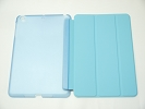 IPad Case - Blue Slim Smart Magnetic PU Leather Cover Case Sleep Wake with Stand for Apple iPad mini iPad mini Retina