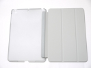 IPad Case - Gray Slim Smart Magnetic PU Leather Cover Case Sleep Wake with Stand for Apple iPad mini iPad mini Retina