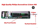 Screw Drivers - High Quality Cross Shape Phillips Screwdriver 2.0mm #00